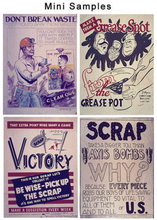 Vintage World War II Posters over 900 Images