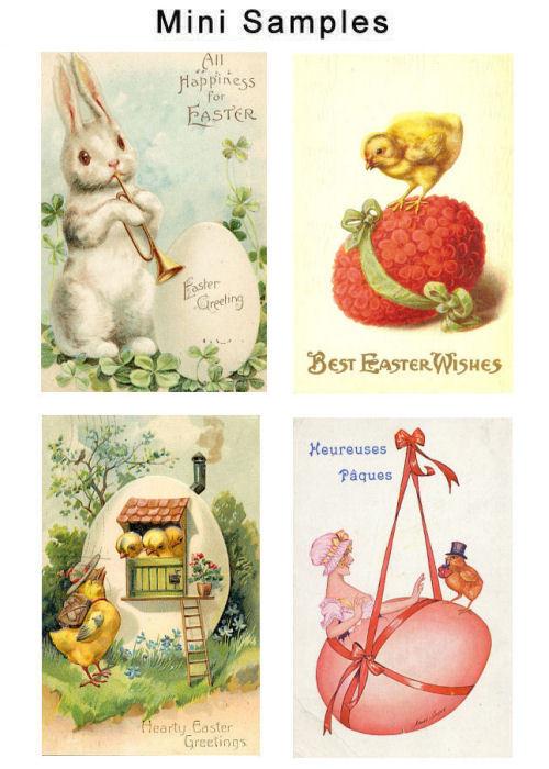 Pay for Vintage Easter Cards Images Set2 1,000