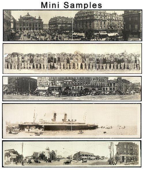 Pay for Panaromic Vintage Images Volume 1 over 900 images