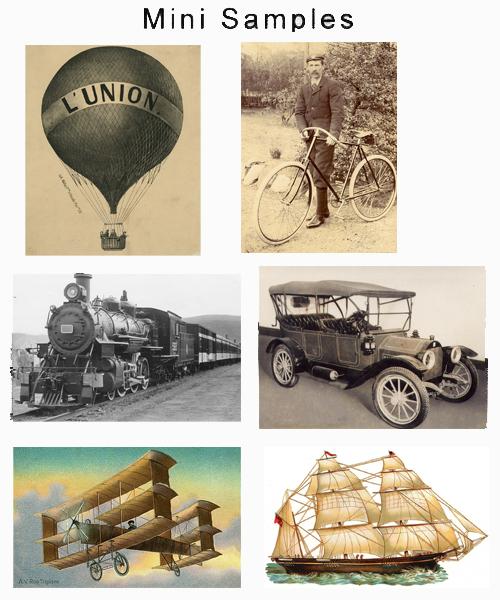 Pay for Transportation Vintage Images over 2,000 Images