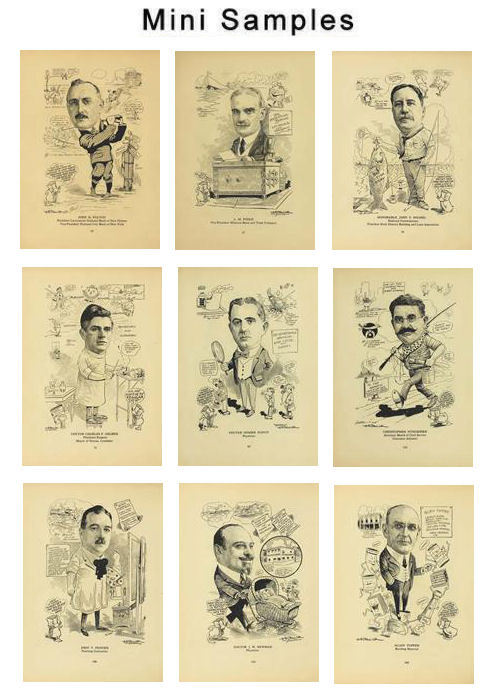Pay for Caricature Club Men Vintage Images HQ 357