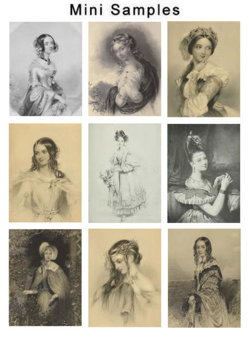 Pay for Vintage Ladys Beauty Images HQ 386