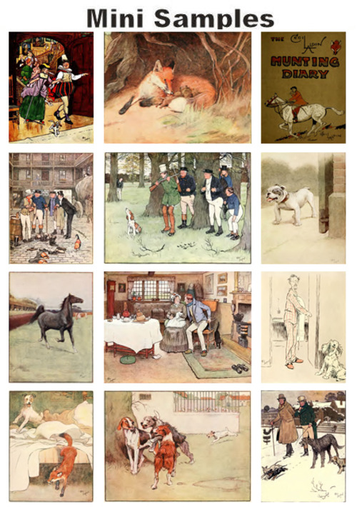 Pay for All about Artist & Illustrator Cecil Aldin vintage PDF books