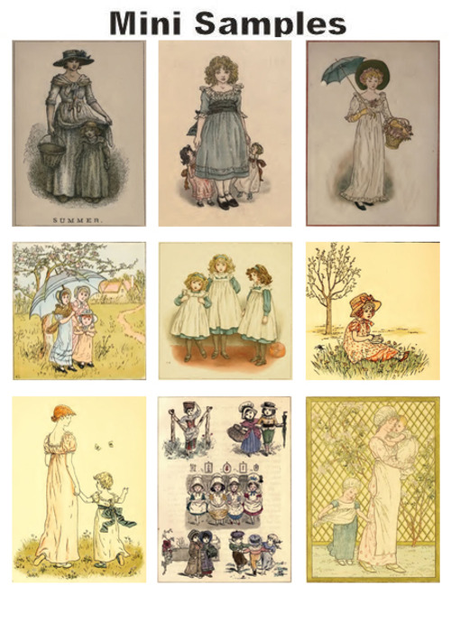 Pay for All about Kate Greenaway vintage PDF books