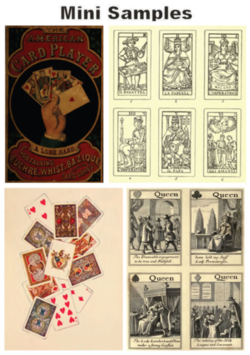 Pay for All About Playing Cards vintage PDF books