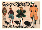 Thumbnail High Resolution Georges Richard Bicycle Ad