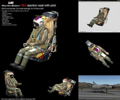 Pay for Martin Baker Mk4 Ejection seat
