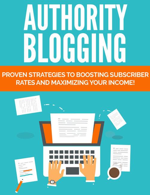 Thumbnail Authority Blogging  - PLR