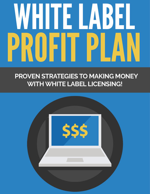 Pay for White Label Profit Plan - PLR
