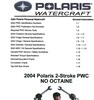 Thumbnail 2004 Polaris Freedom, Virage, Genesis, MSX140 MANUAL