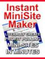 Thumbnail Instant Minisite Maker