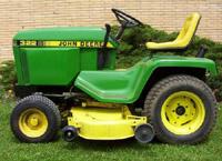 Thumbnail John Deere Lawn Tractor 322 330 332 430  Service Repair Manual