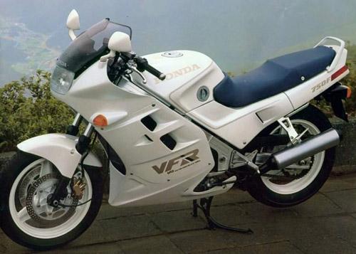 Honda Vfr750f Rc24 1986-1989 Service Repair Manual
