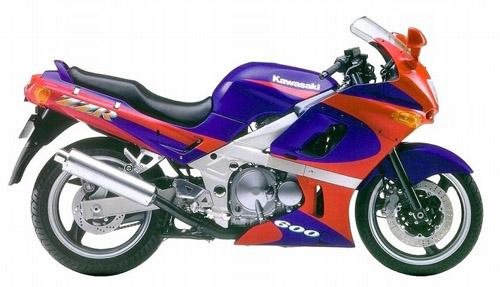 Kawasaki Zzr600 1990-1997 Service Repair Manual