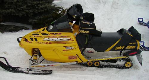 Ski-doo Snowmobiles 2001-2002 Service Repair Manual