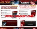 Thumbnail (2 New PLR) iPhone & iPad APP CASH + Blogging Bullseye +  Professional Squeeze Pages