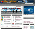 Thumbnail Offline Marketing Niche Website PLR