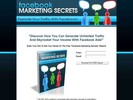 Thumbnail Facebook Marketing Secrets (PLR) + Unique Squeezepage & Full Source Files!