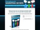 Thumbnail Facebook Marketing Secrets (PLR) + Unique Squeezepage & Full Source Files!