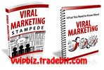Thumbnail Viral Marketing Stampede (PLR) + Giveaway Report Turn Your Product Into a Viral Marketing Masterpiece
