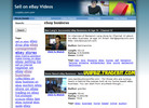 Thumbnail Sell on eBay Videos Site Multiple Clickbank & AdSense Income