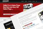 Thumbnail Janissary One Page Sales Theme - Resale Rights Included