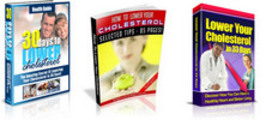 Thumbnail Cholesterol 3 Pack Ebook - How To Lower Your Cholesterol