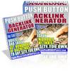 Thumbnail Push Button Backlinks Generator Software (MRR)