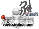 Thumbnail 3D Cutie Characters RR - 100 High Resolution 3D Stock Photos