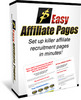 Thumbnail Easy Affiliate Pages - Set Up Killer Affiliate Recruitment Pages In Minutes!
