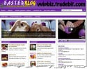 Thumbnail Easter Niche Wordpress Blogs with Reviews Site (PLR Website)