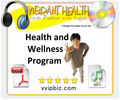 Thumbnail Vibrant Health and Wellness Audio Program + eBook Manuscript (PLR)
