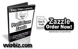 Thumbnail Zazzle Video Tutorials - Learn How To Profit Using Zazzle