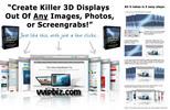 Thumbnail 3D Web Display Maker (11 PSD Template)
