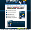 Thumbnail List Building Essentials Squeeze Page Template + PLR Report