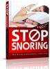 Thumbnail Stop Snoring Website Templates PLR Pack