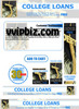 Thumbnail College Loans Minisite Graphics Plr Pack