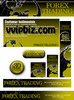 Thumbnail Forex Trading Website Template Plr Pack