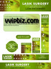 Thumbnail Lasik Eye Surgery PLR Minisite Graphics