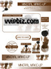 Thumbnail Mineral Makeup PLR Minisite Graphics