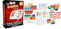 Thumbnail Internet Marketing IM Web Graphics Pack V2