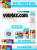 Thumbnail Oil Painting Minisite with Psd Template Plr Pack