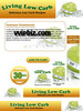 Thumbnail Low Carb Minisite with Psd Template Plr Pack
