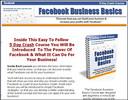 Thumbnail Facebook Business Basics - 5 Day PLR Crash Course