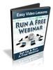 Thumbnail Set Up & Run A Webinar For Free Video Series