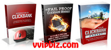 Thumbnail The Clickbank Crash Course Vol 1-3 MRR Ebook