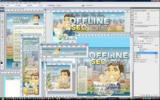 Thumbnail Offline SEO Profits Minisite Template PSD Graphics