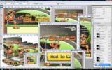 Thumbnail Auto Niche Blogs Minisite Template PSD graphics