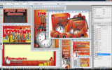 Thumbnail Dynamite Trends Minisite Template PSD graphics
