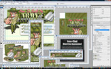 Thumbnail Army Of Affiliates Minisite Template PSD graphics